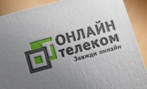 Разработка логотипа для интернет-провайдера Онлайн Телеком
