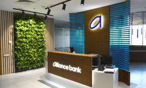 проект оформления ресепшн банка Киев