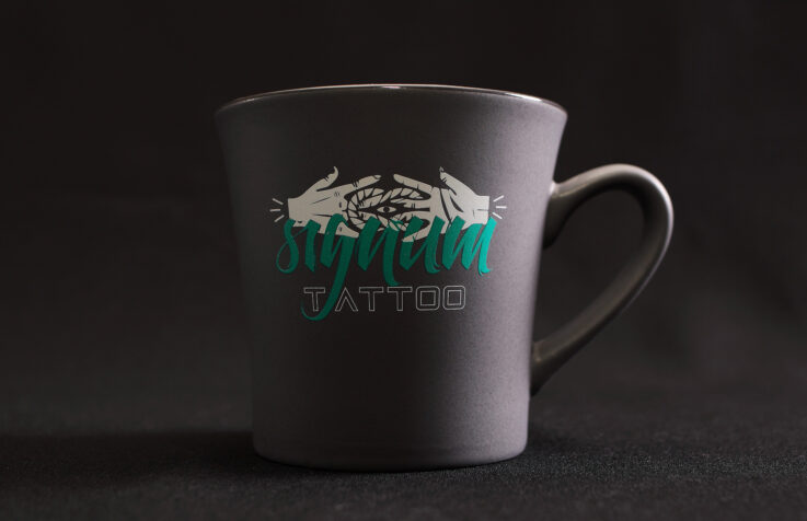 Реклама на чашках