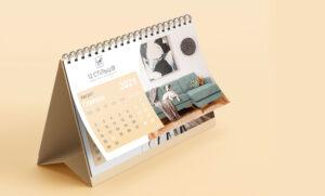 Настольный календарь для мебельного магазина
