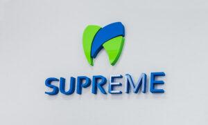 Інтер'єрний логотип для стоматологічної клініки Київ