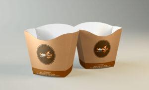 Упаковка для еды с собой street food