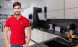 Фирменная одежда для магазина бытовой техники