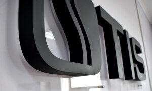 Объемный интерьерный логотип для дистрибьютора косметики