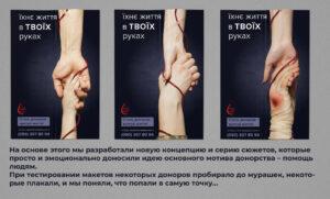 Серія сюжетів на рекламних площинах
