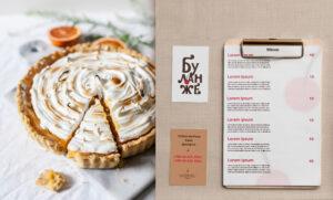 Дизайн полиграфической продукции для булочной-кондитерской
