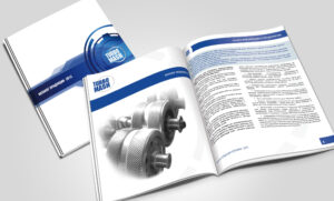 Дизайн и печать каталога для научно-производственной компании