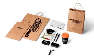 Полиграфическая и сувенирная продукция для доставки еды