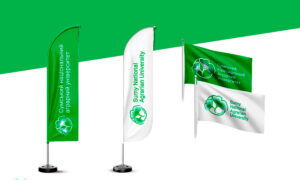 Флаги для Сумского национального аграрного университета