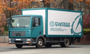 Брендирование грузовых машин