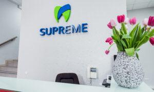 Оформлення зони ресепшн для стоматологічної клініки Київ