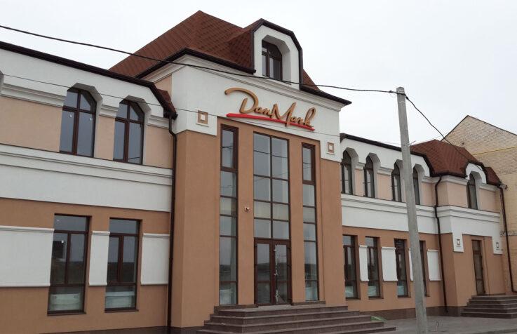Фасадная вывеска для гостинично-ресторанного комплекса «DanMark»