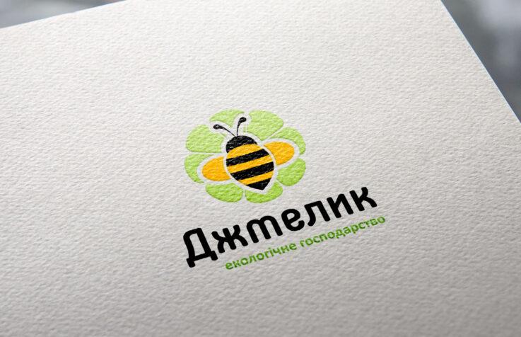 Логотип для «ЕКО–господарства «Джмелик»