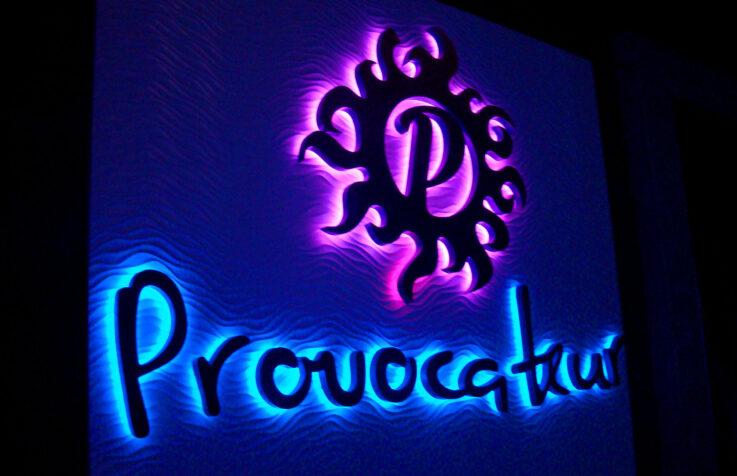 Интерьерные логотипы для ночного клуба