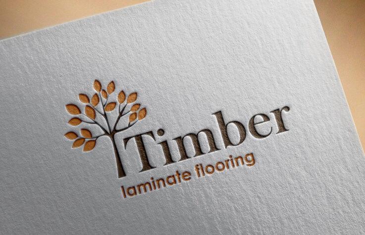 Логотип для «Timber»